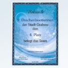 9. Drachenbootrennen in Grabow Platz 4 - Jahr 2009