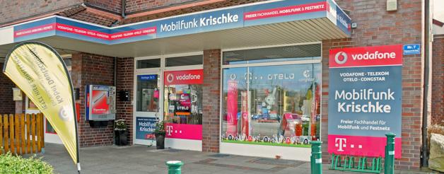 Shop Schwarzenbek - Außenansicht