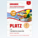 1. Drachenbootrennen in Neustadt-Glewe Platz 1 - Jahr 2015