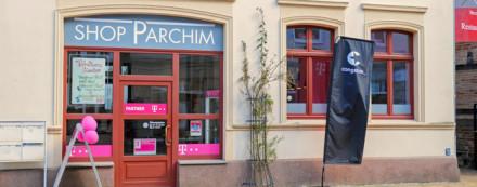 Shop Parchim - Außenansicht
