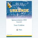 SG 03 Ludwigslust/Grabow Sponsorenturnier 2010