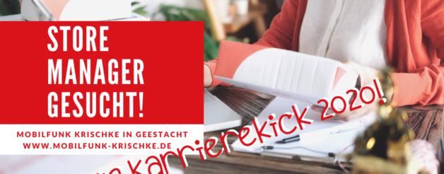 Mobilfunk Store Manager in Geestacht Ratzeburg gesucht