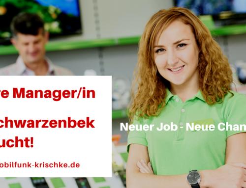 Wir stellen ein: Shop Manager/in (m/w/d) in Schwarzenbek