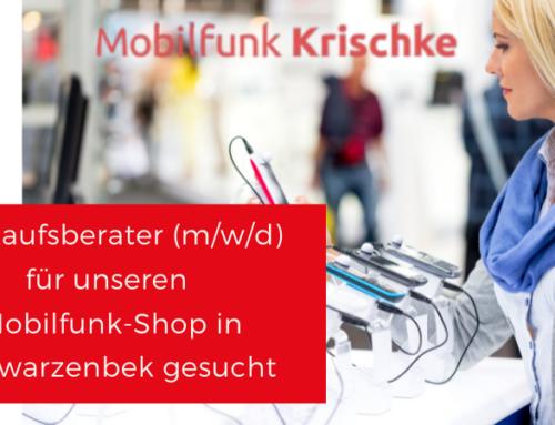 Kundenberater (m/w/d) im Mobilfunkshop Schwarzenbek gesucht!