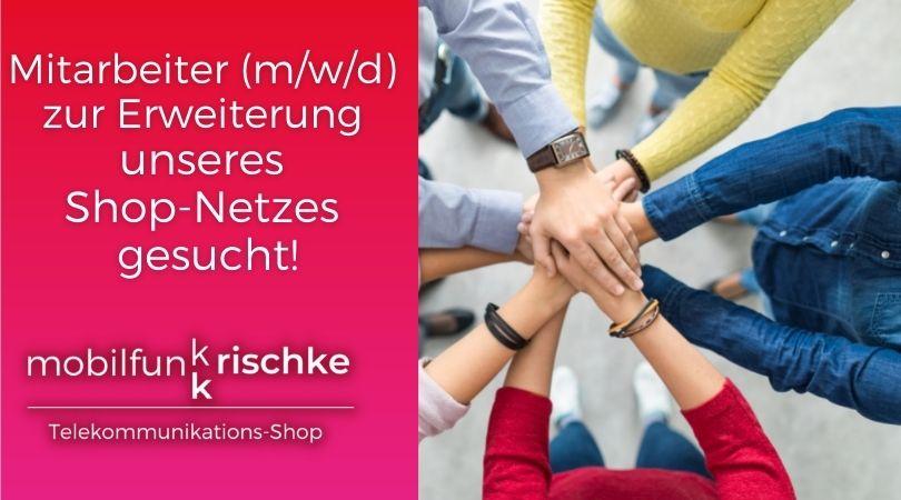 Mitarbeiter (m/w/d) zur Erweiterung unseres Shop-Netzwerkes gesucht